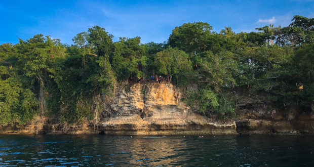 Sabang Cliff Diving